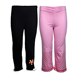 Goodway Solid Girls Multicolor Track Pants