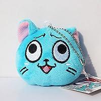 Fairy Tail AMZ Fan Collection Plush Figura de Acción Merchandise Toy Gift Set Manga Anime (Pequeña felpa C)