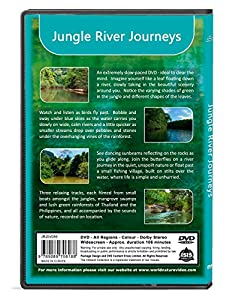 Relaxing Rainforest DVD - Jungle River Journeys with Nature Sounds from The Ambient Collection