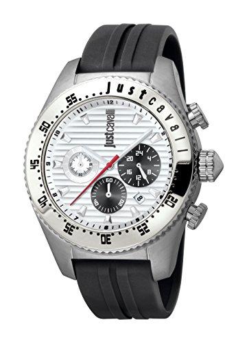 Just Cavalli Men's JC1G040P0015 Sport Silver Dial Watch.