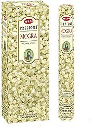 Hem Precious Mogra Incense Sticks(9.3 cm X 6.0 cm X 25.5cm, Black)