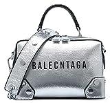 SAIERLONG Damen L?ssiger Stil Silber Echtes Leder Damen Handtaschen Schultertaschen