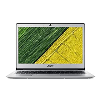 Acer Swift 1 SF113-31-P52E Ultrabook 13.3-Inch Notebook - (Pure Silver) (Intel Pentium N4200, 4 GB RAM, 128 GB SSD, Intel HD Graphics 505, Windows 10 Home)