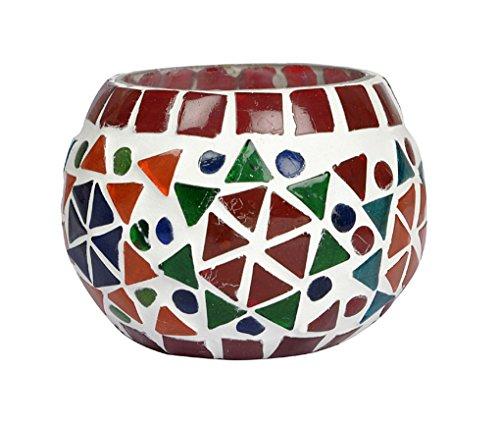 Tea Light Mosaic Candle Holder Wedding Party Light Yankee Votive Lamp 8 Cm