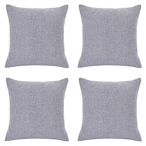 RENMEI Cushion Cover Soft Linen ...