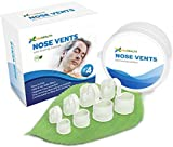 P & J Health - New Upgraded Nose Vents Snore Stopper, Anti Snoring Solution, Ease Breathing and Snoring