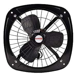 Sameer Exhaust Fan 9 Inch(225MM) High Speed,Black