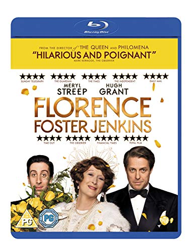 Florence Foster Jenkins [Blu-ray] [2016] UK-Import, Sprache-Englisch