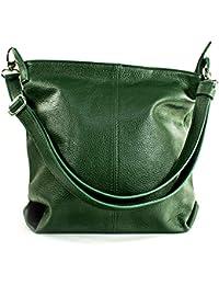 ba305a69e8594 Ital Echt Leder Damentasche Handtasche Ledertache Shopper Schultertasche in  vielen Farben