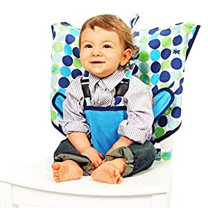 My Little Seat The Travel Highchair (Biggy Buttons, 6 - 36 Months)