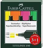 Textmarker Faber Castell, Box X 3+ 1gratis