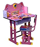 Pink study table for kids By Ratna International