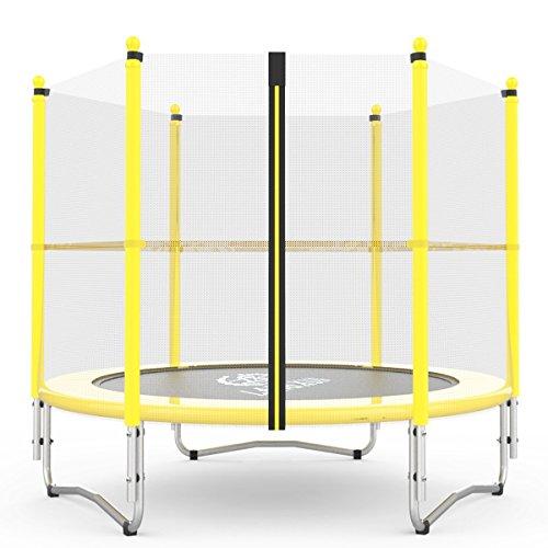 Langxun 5FT (150cm) Trampolín interior/exterior   Para niños Niños Los mejores regalos de cumpleaños Regalos de Navidad Buenas herramientas de ejercicio