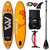 Aqua Marina Fusion-All-Around iSUP, 3.15m/15cm, with Paddle and Safety Leash,...