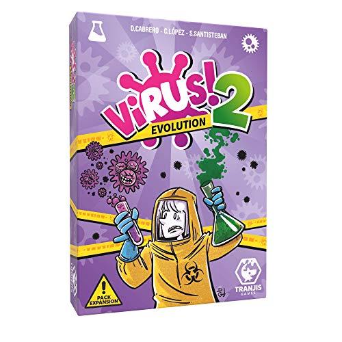 Comprar Tranjis Games - VIRUS! 2 Evolution (Expansión) - Juego de cartas (TRG-12evo)