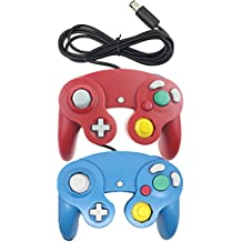 bowink NGC CLASSIC Wired Shock Joypad Juego Stick Pad Controller para Wii Gamecube NGC GC negro