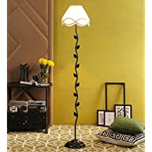 Off White Cotton Leaf Floor Lamp /Standing Lamp By New Era For Living Room /Drawing Room/Office/Bedroom/Decoration /Corner/Gift/Lobby