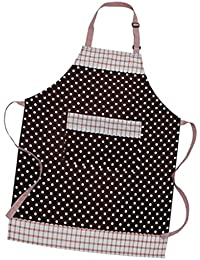 Almencla Womens/Ladies Country Cottage Home Kitchen Cocina Delantal Para Antifouling - Marrón, 80 × 64 cm