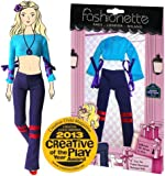 """Fashionette - LOOK N°24 - """"Sixties"""" - Casual outfit for 11.5 inch mannequin dolls (28-30cm) : Barbie, Sindy, Disney Princesses, etc..."""