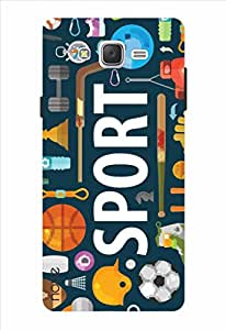 Noise Sport Printed Cover for Samsung Galaxy On5