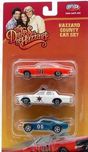 Joyride Entertainment Dukes of Hazzard Motorcars 1:64 Scale (3 Pack)