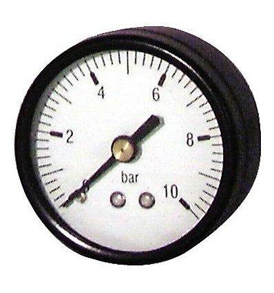 Générique - Manomètre rond Eau et Air - 0 à 10 bars diamètre 50mm M1/4