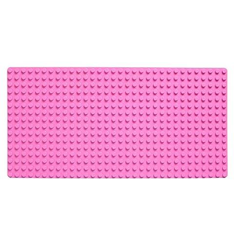 Katara 1739 - Große Grundplatte, Bauplatte Mit Noppen Für Lego Duplo Ohne Steine - 51 cm x 26 cm, Rechteckig für Häuser uvm. – Riesige Platte Für Riesigen Spiel- und Bauspaß Mit Kinder,