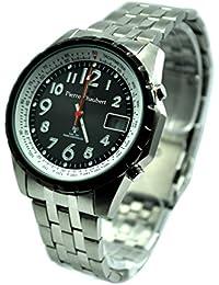 Pierre pantalones Bert Herren-reloj analógico de pulsera - Digital cuarzo acero inoxidable RCSLDDS5003