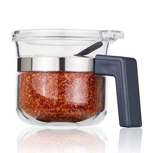 cucina forniture/Scatola delle spezie/pesante vaso della Spezia/re sale/Tenuta con jar speziale coperchio/scatola metallica]-B