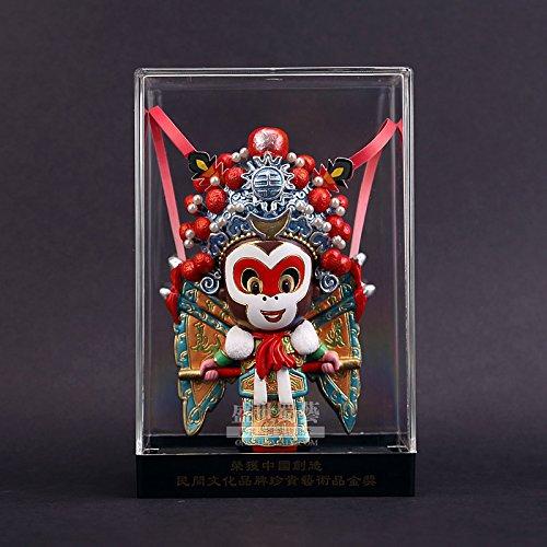 BTJC Scimmia di Oriental Opera maschere creativo del fumetto Q stereo bambola figure regali commemorativi