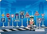 Playmobil 3259 - Verkehrsschilder/Polizist