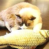 YAJIE-Haustier, Simulation Fisch Spielzeug Lustige Katze Spielzeug Fisch Stuff Kratzer Post Board Spielzeug, groß Größe: 57.0 x 22.0 x 13.0cm