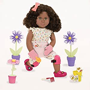 Our Generation 18-Inch Nahla Deluxe Doll with Book