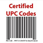 UPC & EAN Codes GS1 Certified Numbers Your codes will be sent in less than 12 hours, and often less than 2! These codes are certified for use with Amazon, iTunes, and any other store that uses UPC codes! Your purchase includes: • UPC & EAN nu...