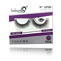London Pride 3D Silk Eyelash Lp 26