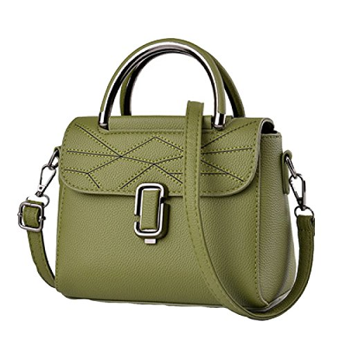 Piccola Borsa Femminile Marea Femmina Versione Coreana Della Nuova Piccola Fragranza Moda Spalla Messenger Bag Green