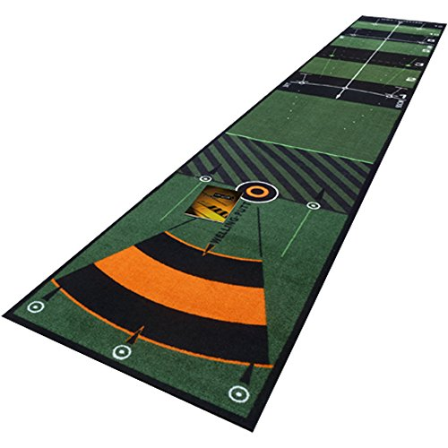 Welling Putt Mixte Tapis 3 m Slow-STD Speed, Vert, Taille Unique