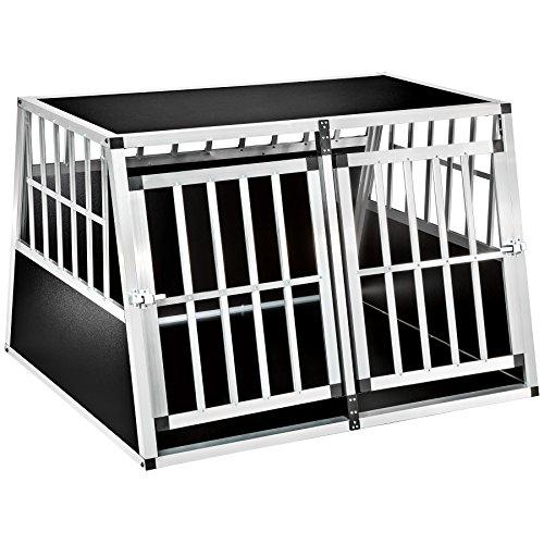TecTake Cage Trapezförmiger Aluminium-Kiste - verschiedene Modelle -