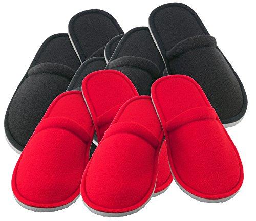 Jeu de pantoufles nJUTA sEt de 5 en 2 tailles - Multicolore - gemischtes Sortiment mehrere Farben, L EU