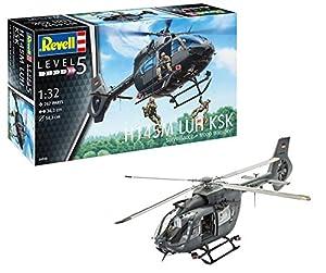 Revell Revell-H145M Maqueta Helicóptero H145M LUH KSK Surveillance + Troop Transport, Kit Modello, Escala 1:32 (4948) (04948), 36,3 cm de Largo (
