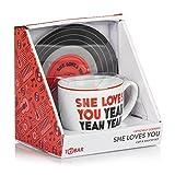 La Coppa dei Beatles (Lennon & McCartney) e il Set Piattino - SHE LOVES YOU