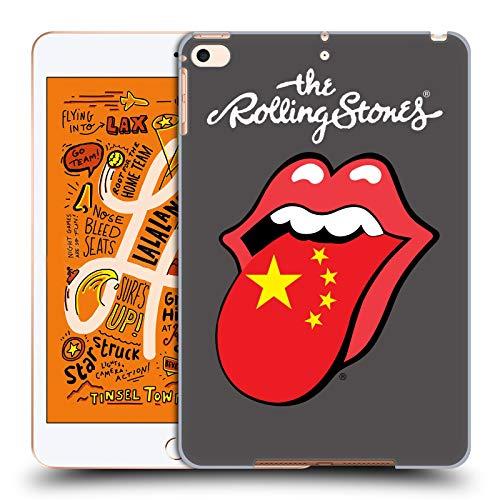 Head Case Designs Offizielle The Rolling Stones China Internationale Lecken 1 Harte Rueckseiten Huelle kompatibel mit iPad Mini (2019) Stone Chino