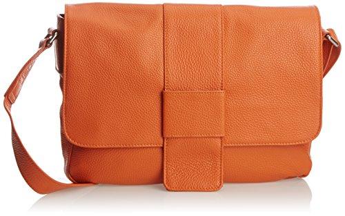 Jost College Satchel Briefcase 2751, Borsa messenger unisex adulto arancione