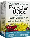 Traditional Medicinals - tutti i giorni Detox Tea - promuove la sana funzione del fegato - 16 bustine di tè