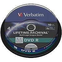 Verbatim 43824 M-Disc 4x DVD-R - 10er Packung