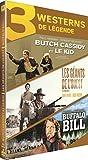 Coffret westerns de légende : butch cassidy et le kid ; les géants de l'ouest ; buffalo bill