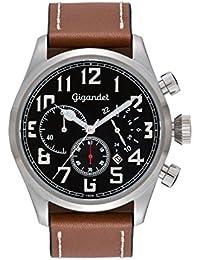 Gigandet Interceptor Montre Homme Chronographe Analogique Quartz Noir Marron G4-002