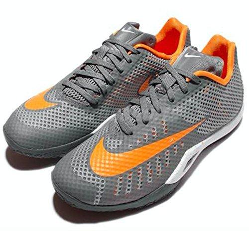 Nike Jungen T-Shirt Cool Grey/Vivid Orange-wolf Grey-white