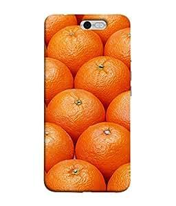 FUSON Designer Back Case Cover for InFocus M812 (Countryside Scent Of Orange Blossoms Citrun )