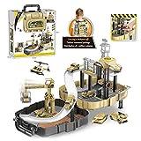 SPFAZJ Auto Modell Parkplatz Fahrzeug Spielzeug verfolgen geistigen Spielzeug Kinder Rucksack Lagerung Puzzle zusammenbauen